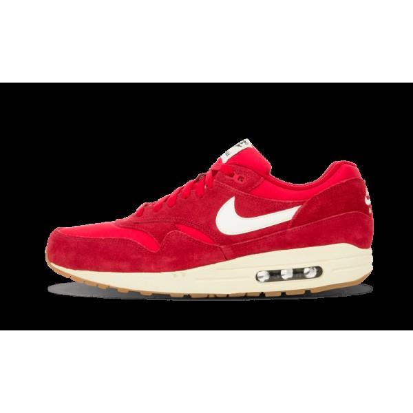 Nike Homme Air Max 1 Essential Gym Rouge/Sail/Noir...