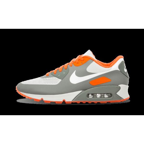 Nike Air Max 90 Hyperfuse ID Gris/Orange 488033-99...