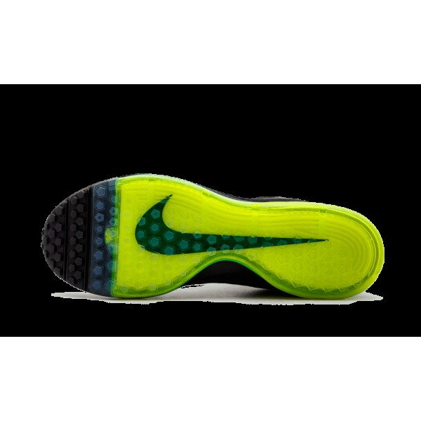 """The Anticipated Nike Zoom All Out Flyknit Runner """"Triple Noir"""" 844134-001"""