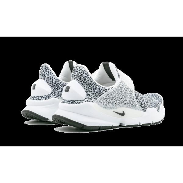 Nike Sock Dart QS Safari Pack Homme 942198-100 Blanche Noir