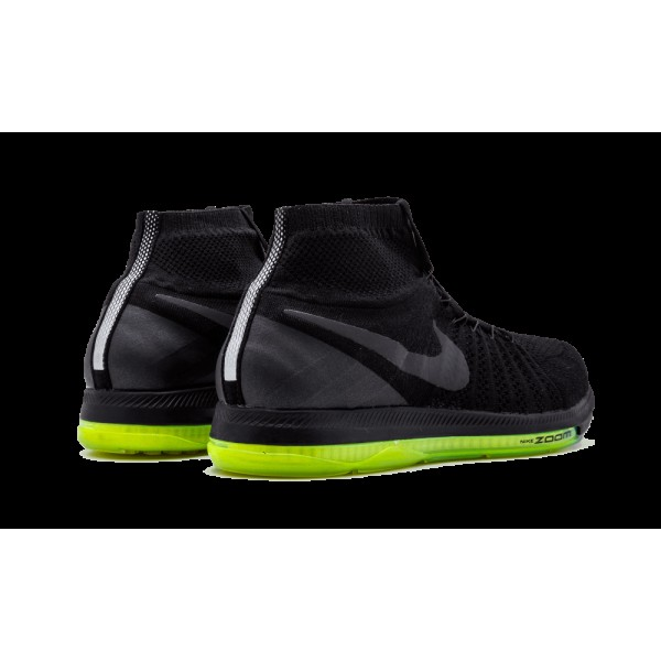 "The Anticipated Nike Zoom All Out Flyknit Runner ""Triple Noir"" 844134-001"