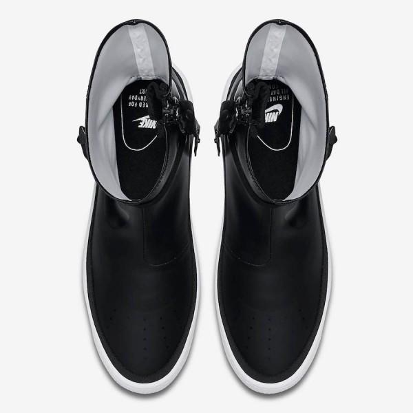 Nike Air Force 1 Sage High Noir Blanche Chaussures Femme AQ2771-001