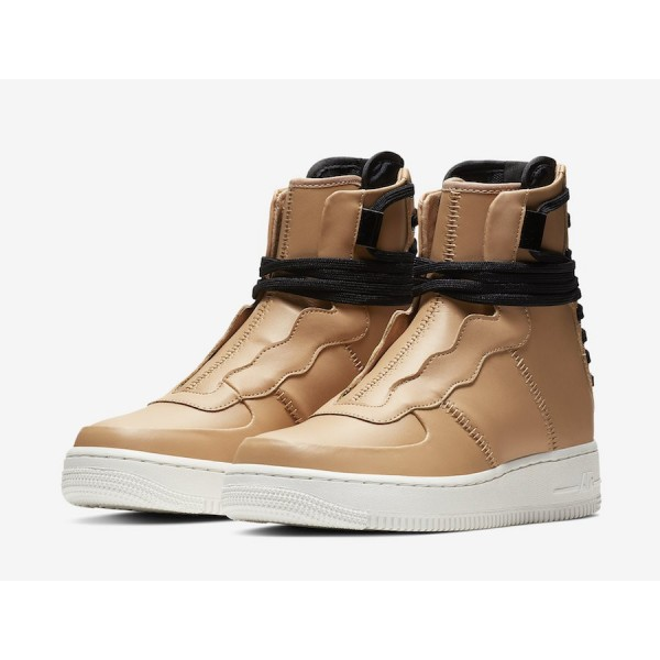 Nike Air Force 1 Rebel XX Praline Blanche Chaussures Femme AO1525-200