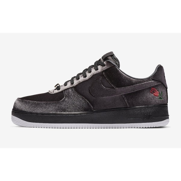 "Nike Air Force 1 ""Satin"" Noir Blanche Ch..."