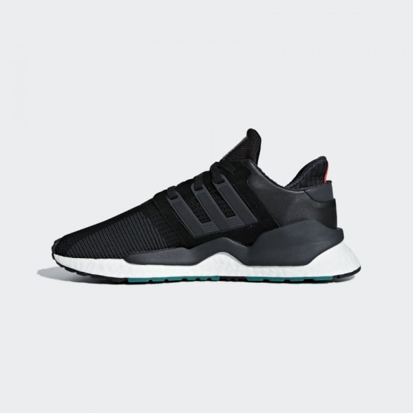 Adidas EQT Support 91/18 Chaussures Homme Noir Bla...