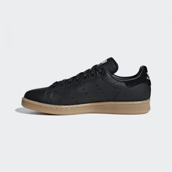 Femme Adidas Stan Smith Chaussures Core Black/Gum ...