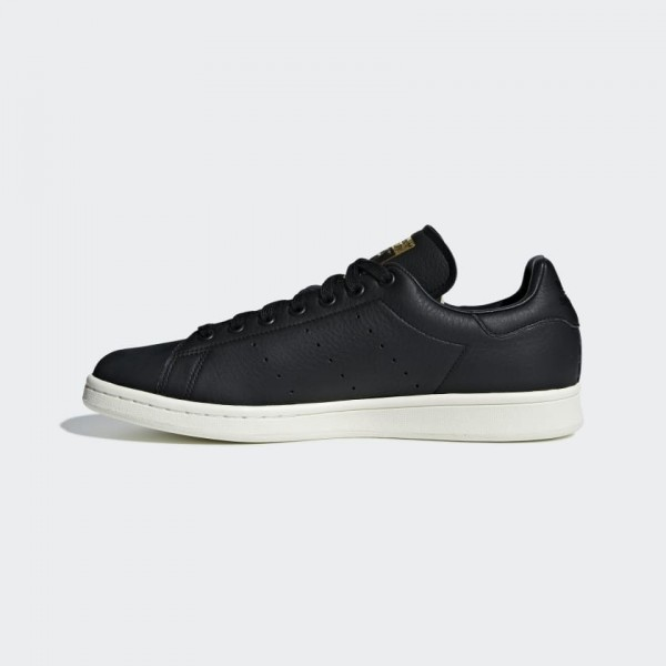 Adidas Homme Stan Smith Premium Chaussures Core Bl...