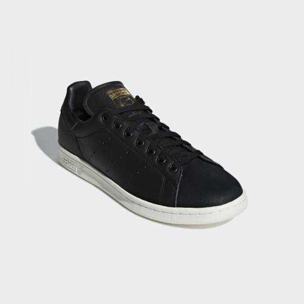 Adidas Homme Stan Smith Premium Chaussures Core Black B37901
