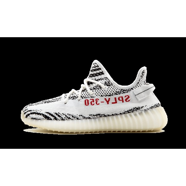 Adidas Yeezy Boost 350 V2 Blanche/Rouge CP9654
