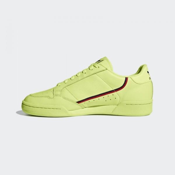 Adidas Continental 80 Semi Frozen Yellow Chaussure...