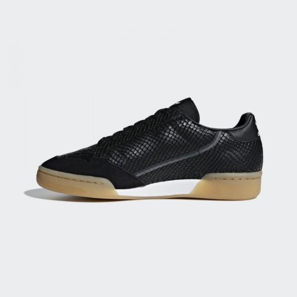 Adidas Continental 80 Core Black/Gum Chaussures B4...