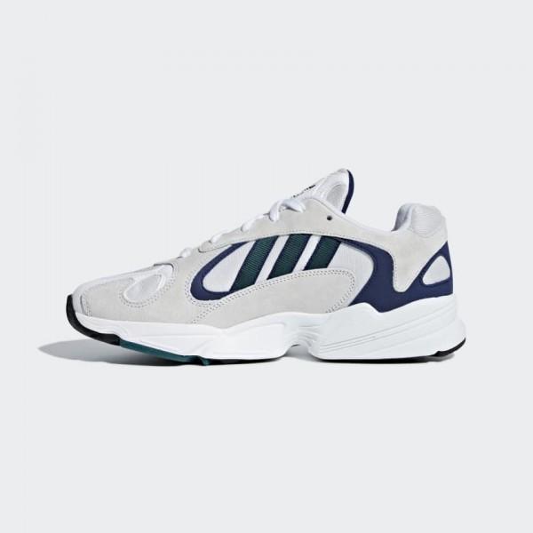 Adidas Originals Yung 1 Chaussures Blanche/Gris/Ve...