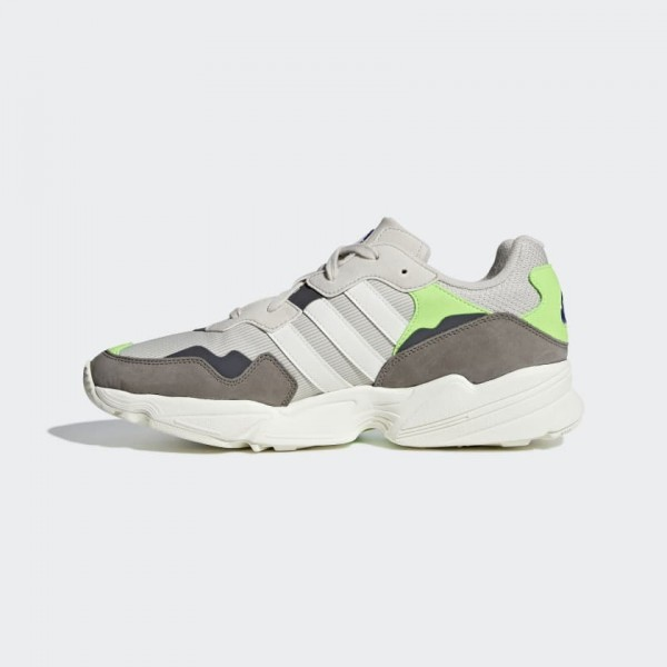 Adidas Yung 96 Clear Marron/Blanche/Vert Chaussures F97182