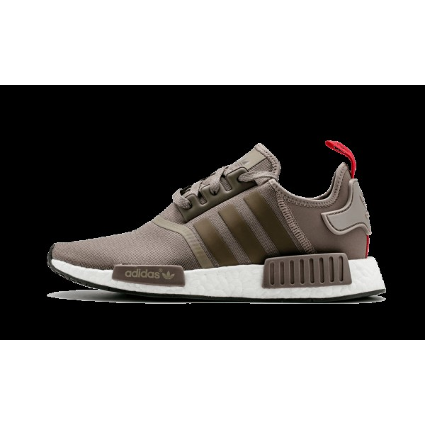 Adidas NMD_R1 Marron Clair/Rouge/Blanche S81881