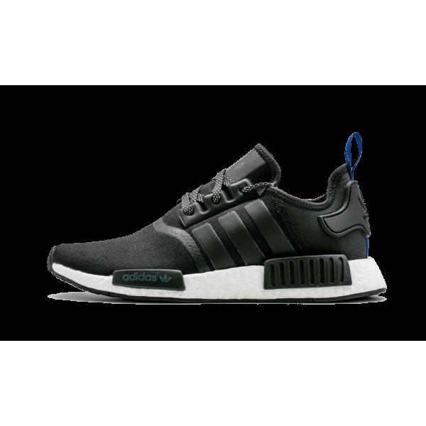 Adidas NMD R1 Core Noir/Blanche/Bleu S31515
