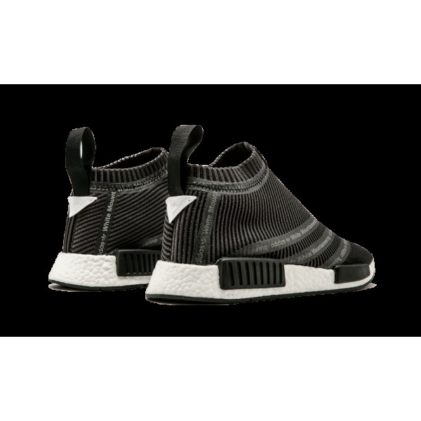 Adidas White Mountaineering NMD City Sock Tech Gris/Noir/Blanche S80529