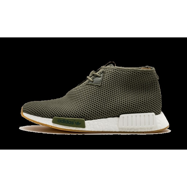 Adidas Homme NMD_C1 END Vert/Blanche BB5993