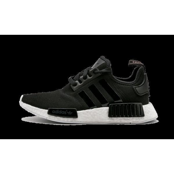 Adidas NMD_R1 Femme Noir/Blanche S82269