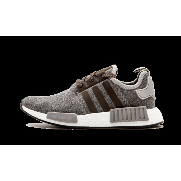 "Adidas NMD R1 ""Charcoal Wool"" Gris Marro..."