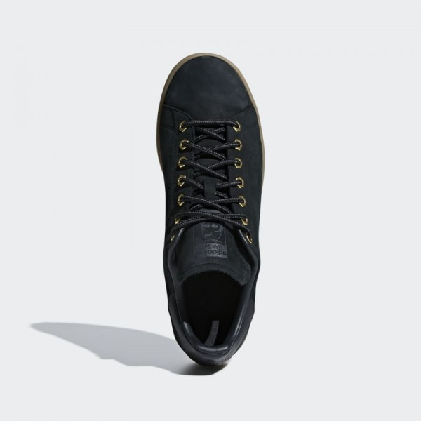 Adidas Originals Stan Smith WP Homme Noir Gum B37872