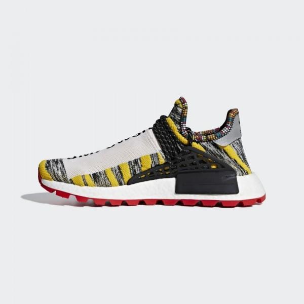 Pharrell x Adidas Hu NMD Chaussures Core Black/Rou...
