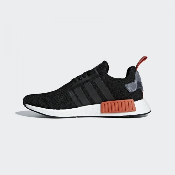 Adidas Homme NMD R1 Boost Noir Rouge Chaussures AQ...