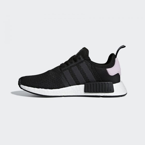 Adidas Femme NMD R1 Core Black/Rose Chaussures B37...