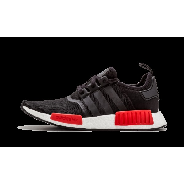 Adidas Originals NMD_R1 Noir/Rouge Chaussures BB19...