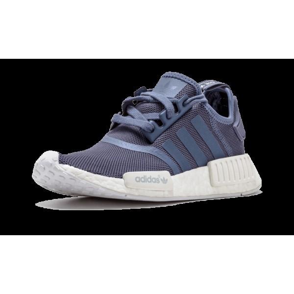 Adidas NMD_R1 Femme Tech Ink/Blanche/Bleu S76005