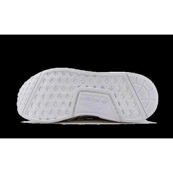 Adidas Femme NMD_R1 Matte Argent/Blanche S76004