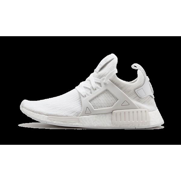 Adidas NMD_XR1 Primeknit Boost Glitch Blanche BB19...
