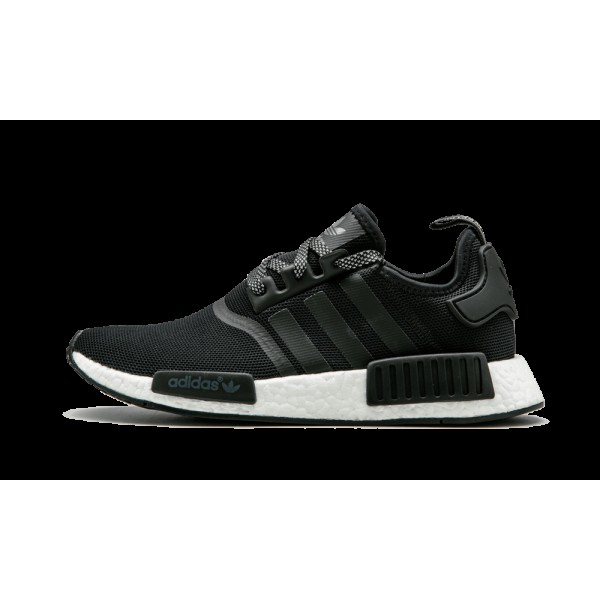 Adidas NMD_R1 Reflective Monochrome Noir/Blanche S...