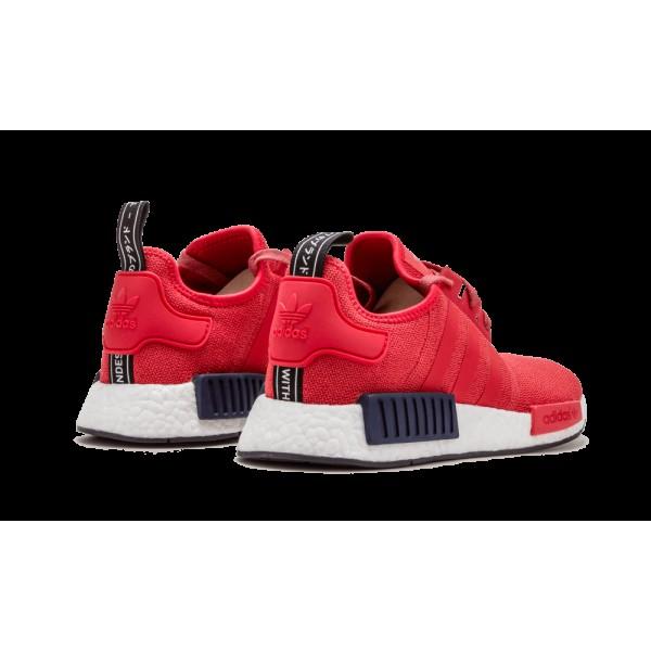 Adidas NMD_R1 Femme Vivid Rouge Solar Rouge S76013