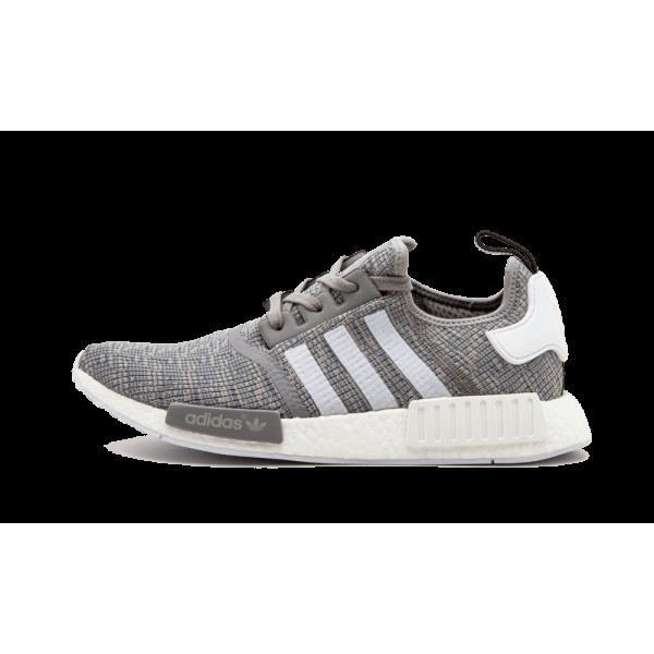 Adidas NMD R1 Chaussures de running Solid Gris Bla...