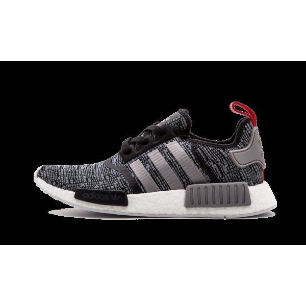 Adidas Originals NMD_R1 Gris/Noir/Rouge BB2884