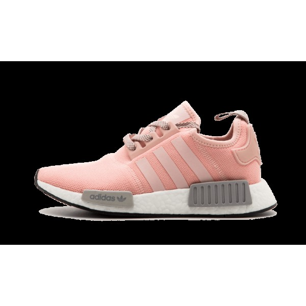 Adidas NMD R1 Femme Vapor Rose Onix Gris clair BY3...