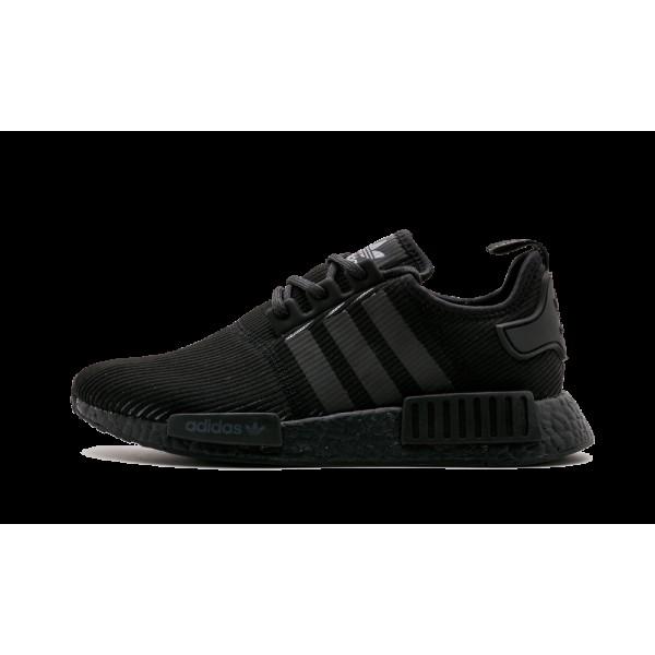 "Adidas NMD R1 ""Triple Noir Reflective"" -..."