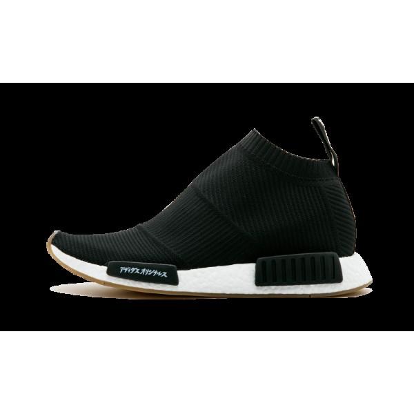 Adidas Originals Primeknit Noir/Blanche/Gencive NM...