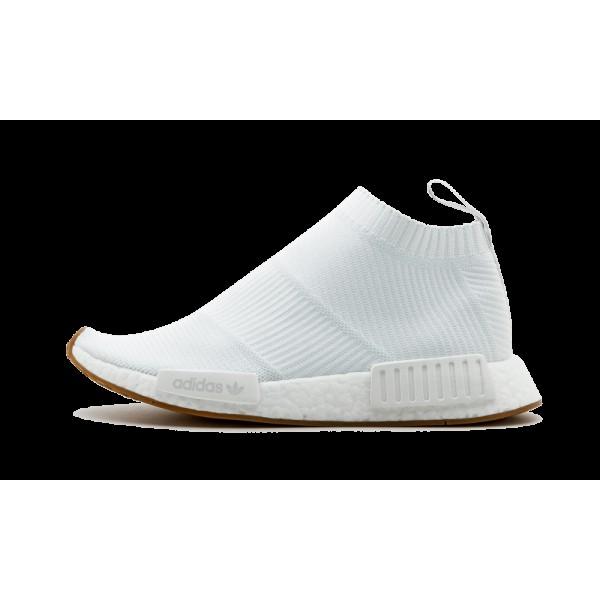 Adidas NMD_CS1 Primeknit Boost Blanche/Gencive BA7...