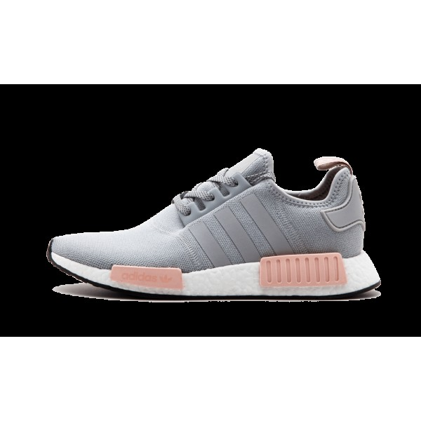 Adidas NMD_R1 Femme Gris/Onix Clair/Vapour Rose BY...