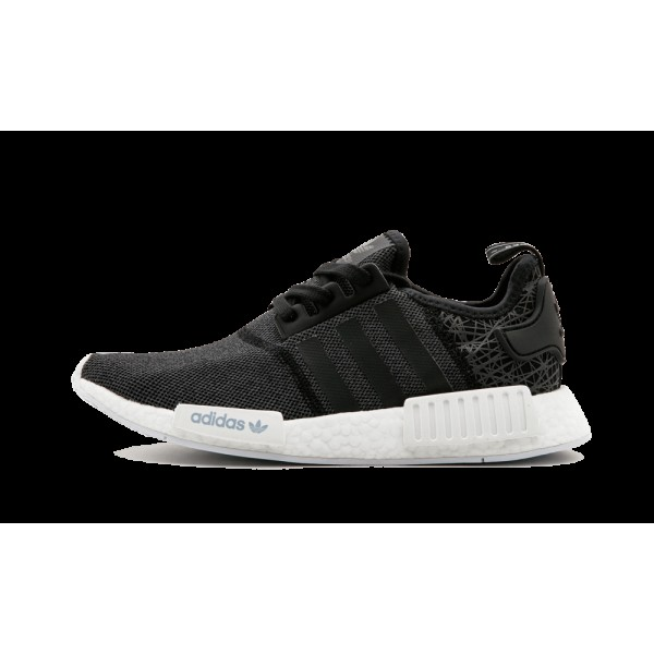 Adidas NMD_R1 Femme Noir Blanche Chaussures S76906