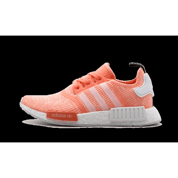 Adidas NMD_R1 Femme Sun Glow/Blanche/Haze Coral BY...