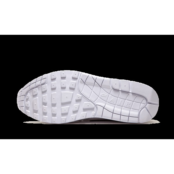 Nike Air Max 1 Premium Blanche Kumquat Chaussures de Homme 512033-110