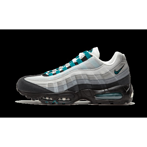 Nike Air Max 95 Blanche/Fresh Water/Neutre Gris/Me...