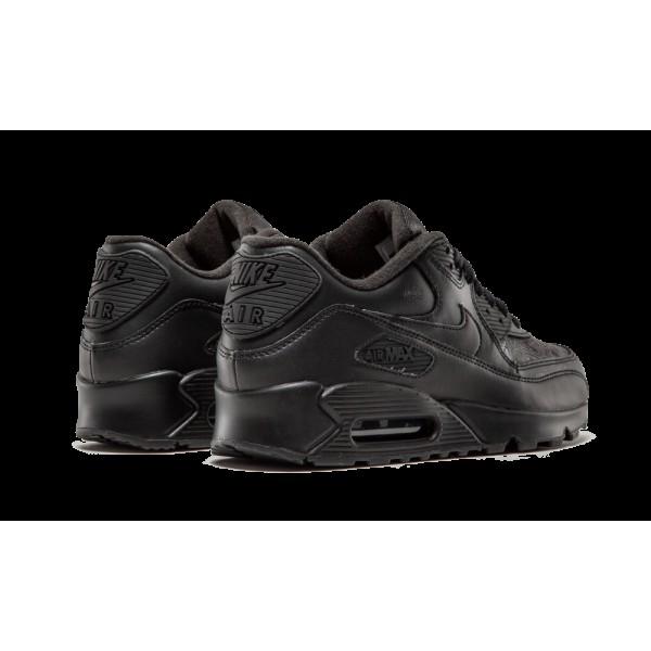302519-001 Nike Air Max 90 Leather Noir