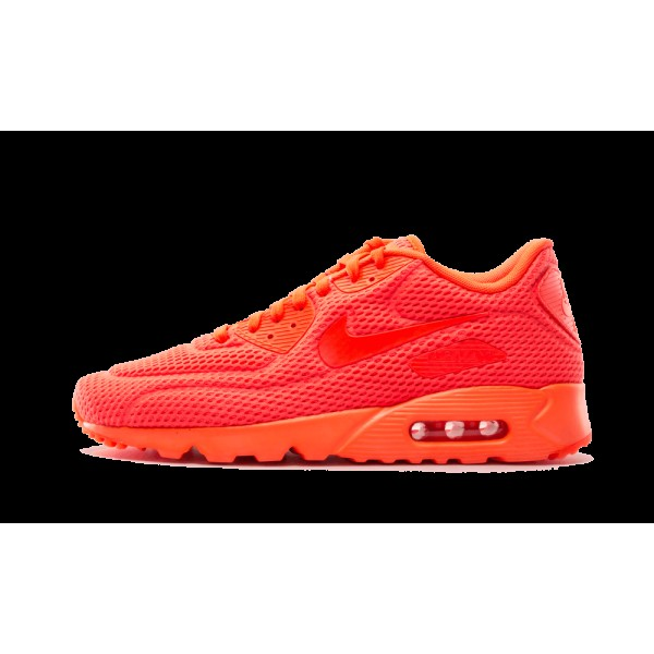 Nike Air Max 90 Ultra BR Total Crimson 725222-800 ...