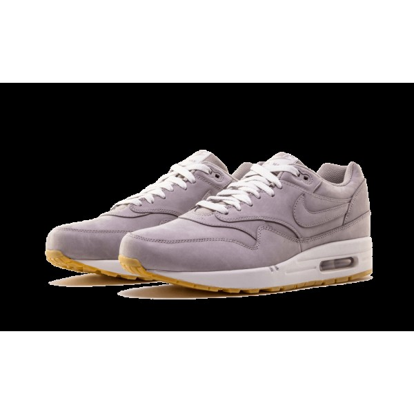 Nike Air Max 1 LTR Premium Medium Gris/Neutre Gris/Gencive 705282-005
