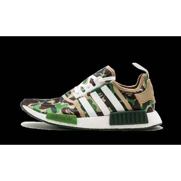 Adidas NMD_R1 Bape Vert Camo/Blanche BA7326