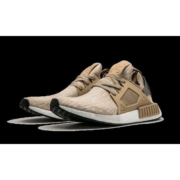 Adidas NMD XR1 Primeknit PK Linen/Matte Argent/Noir Boost Chaussures S77194