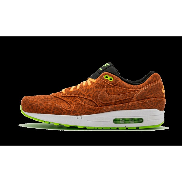 Nike Air Max 1 FB Leopard Orange Atmos 579920-881